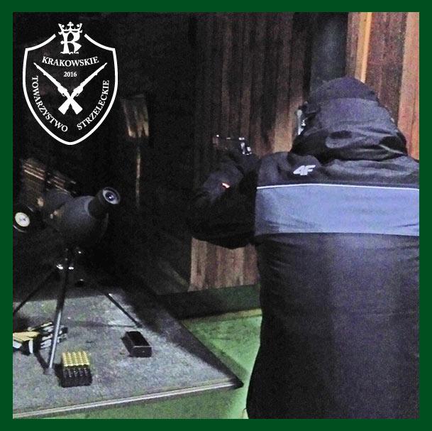 Zimowe treningi strzeleckie