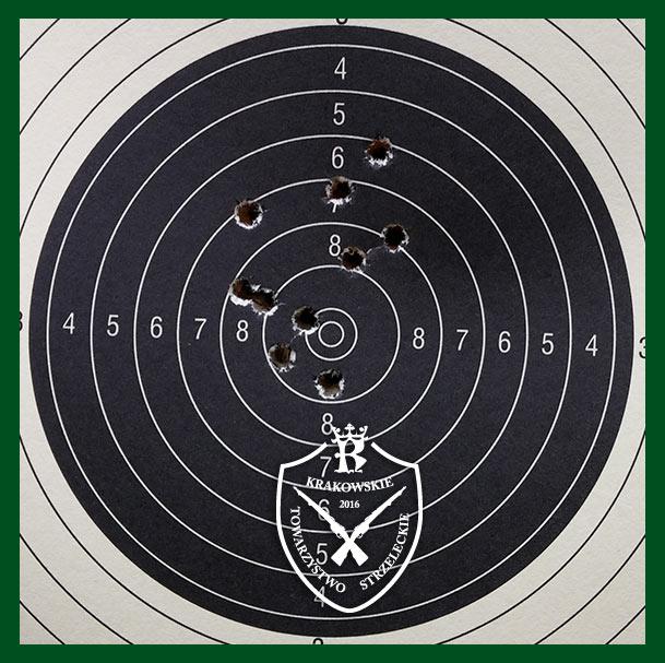 Trening strzelecki przed zawodami